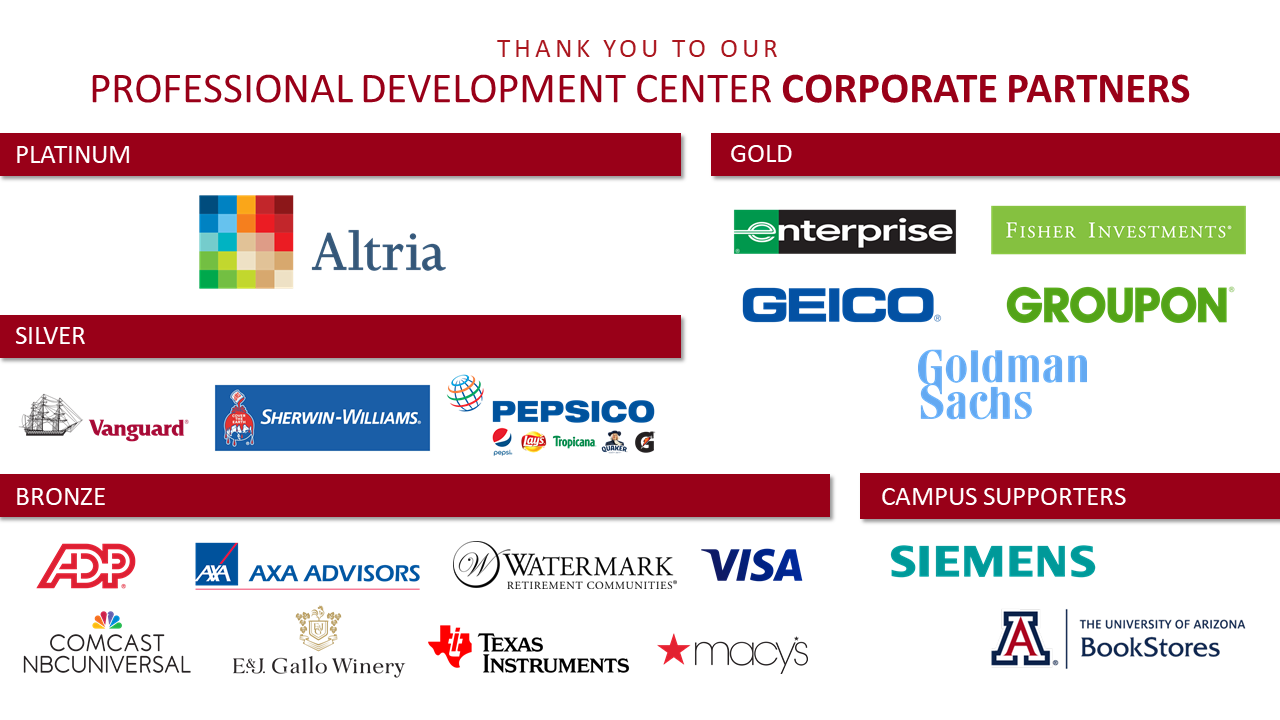 Logos for PDC Corporate Partners
