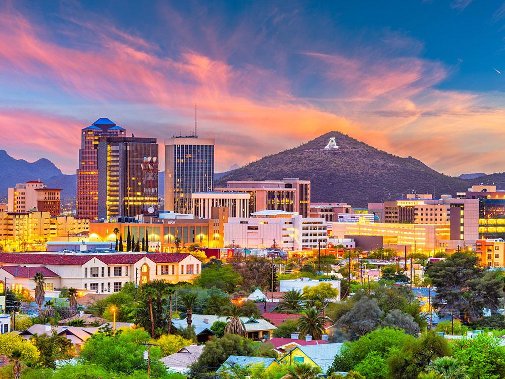 Evening in Tucson