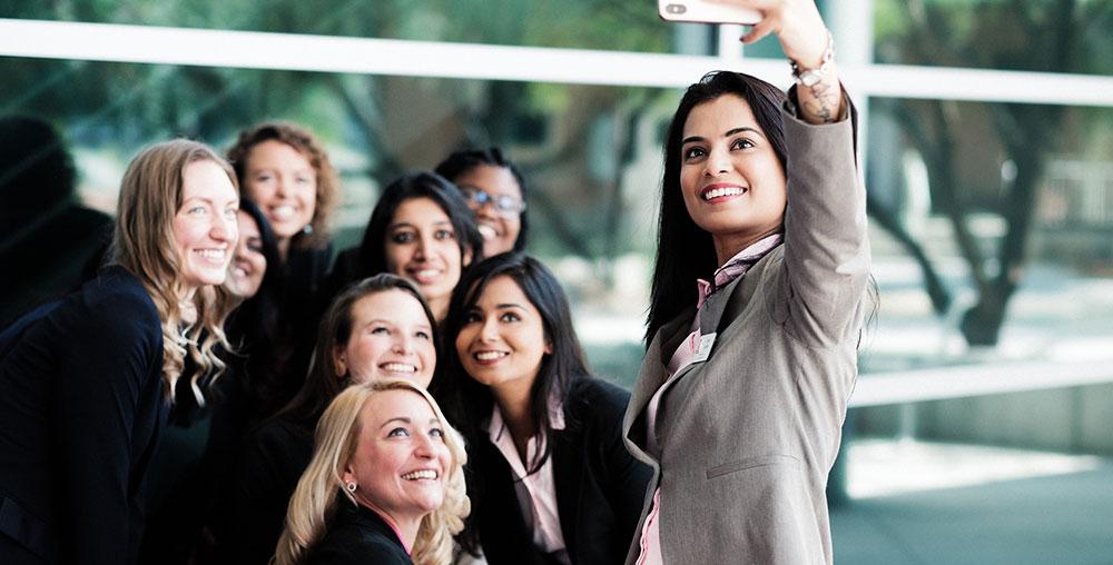 Eller MBA female students