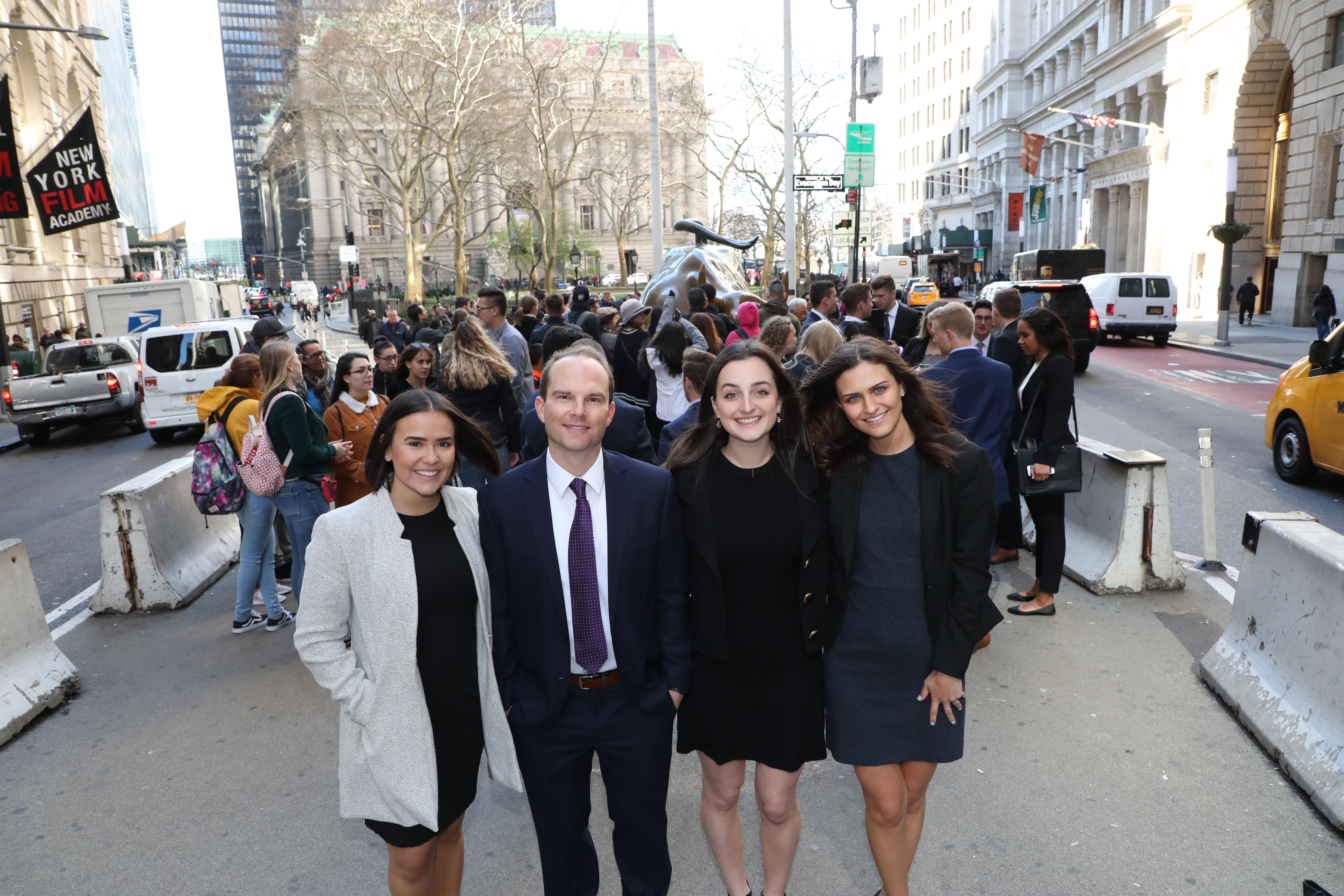 wall Street Scholars in New York