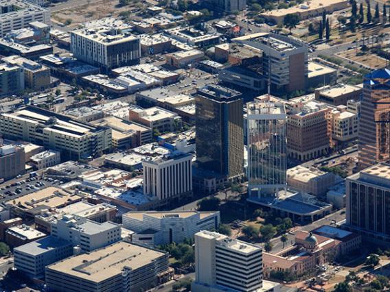 downtown, tucson, arizona