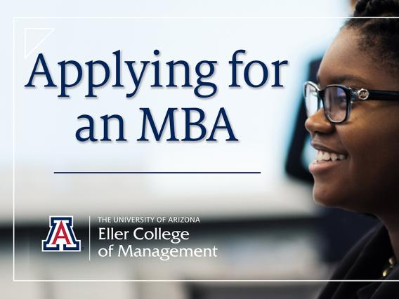"""Applying for an MBA"" video thumbnail"