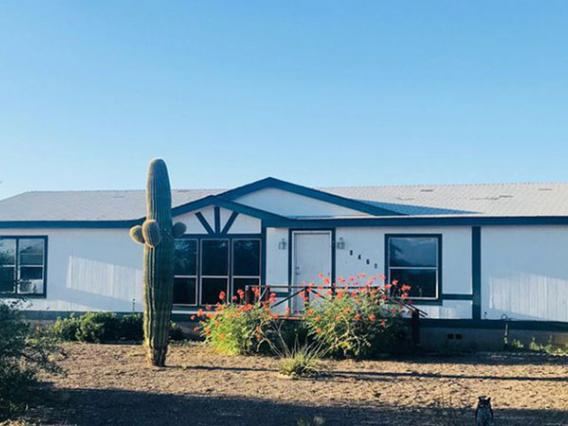 manufactured home in Pima County