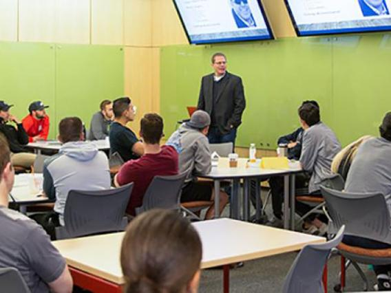 Entrepreneurship Students Get Front-Row Seat To Corporate Social Responsibility In Action