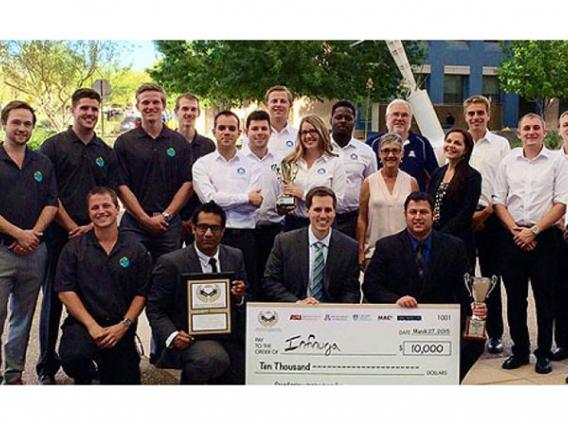 Two UA Student Ventures Win Top Awards at Arizona Collegiate Venture Competition Hosted by ASU