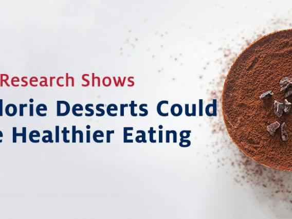 New Eller Research Shows High Calorie Desserts Could Promote Healthier Eating