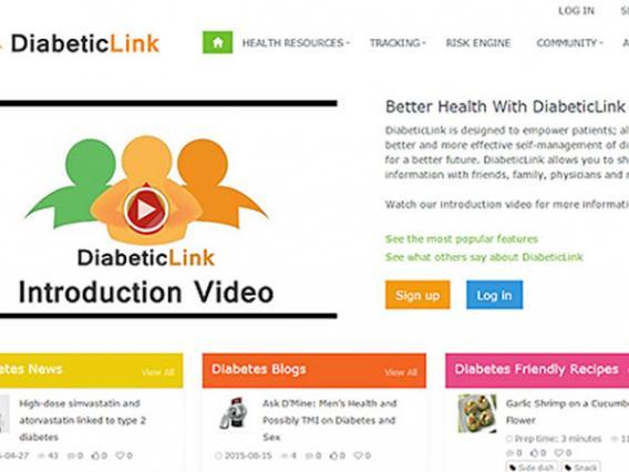 DiabeticLink website