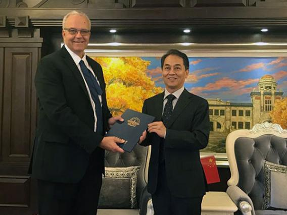 Eller College and China's Harbin Institute of Technology Form Joint College