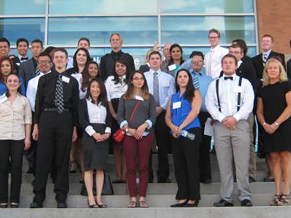 Students from Arizona community colleges