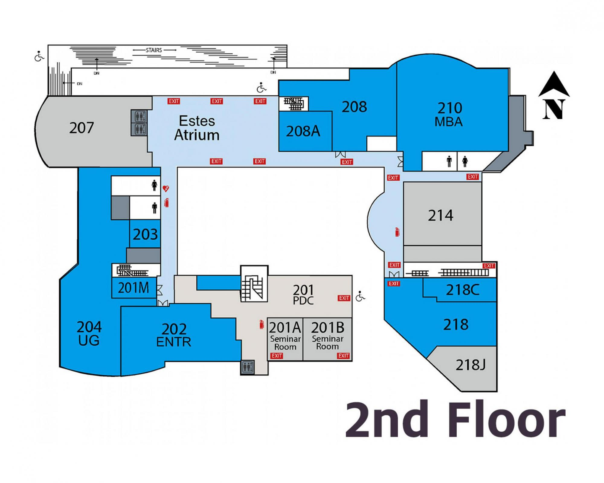 McClelland Hall 2nd Floor