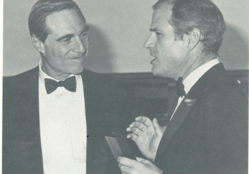 1985- Winter issue of Enterprise, the publication of the Karl Eller Center