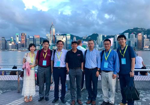 AI Lab conference attendees in Hong Kong