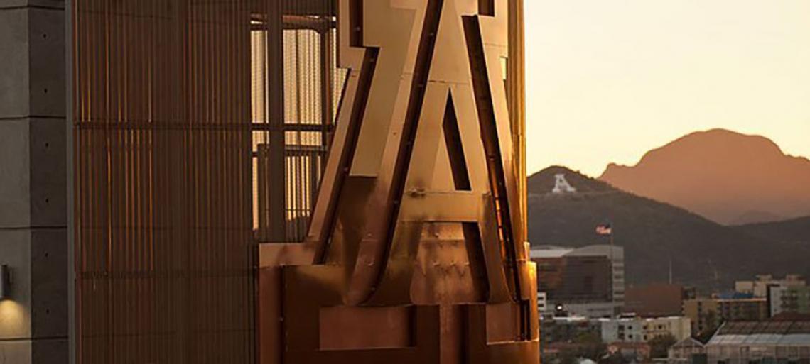 Sunset at the University of Arizona