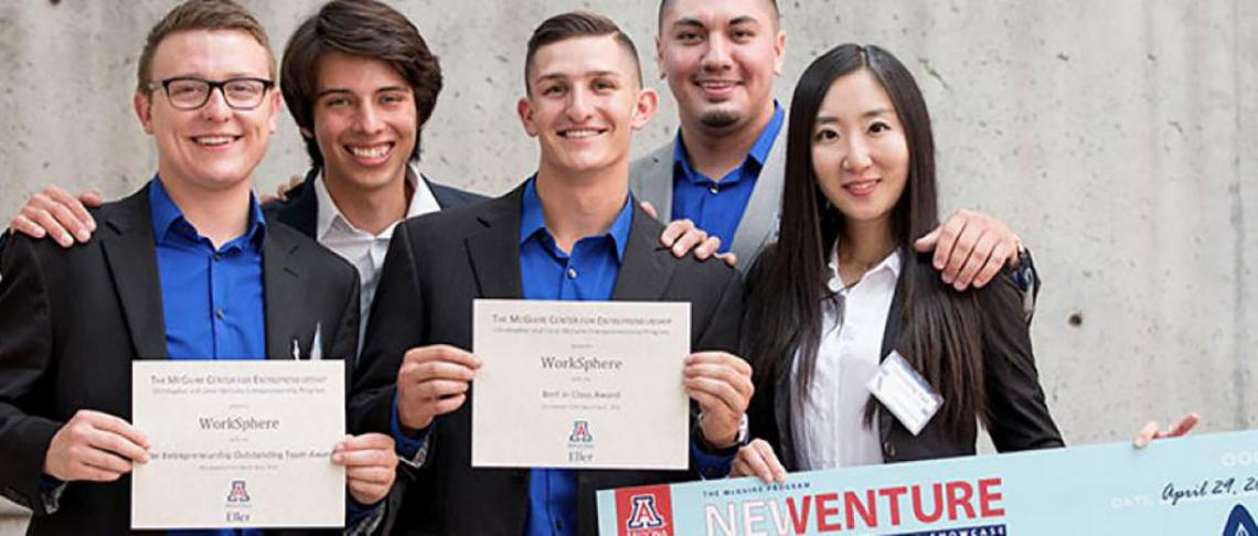 UA student startups to compete for $40K in prizes at the McGuire New Venture Competition April 28