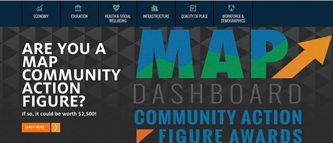 Eller's Making Action Possible for Southern Arizona Dashboard Website Receives National 2016 AUBER Award