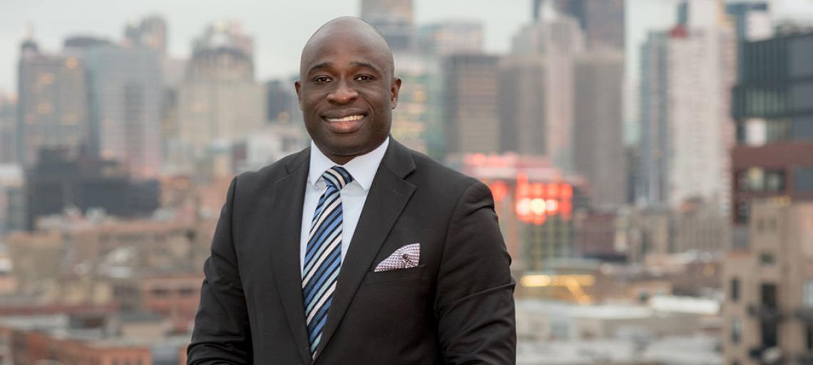 A Knack for Finance and Career to Prove it: Ayo Ayodele '03 BSBA