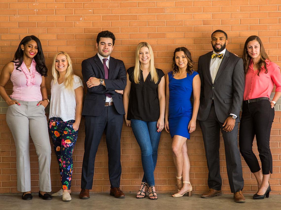 Diverse Eller undergraduate students