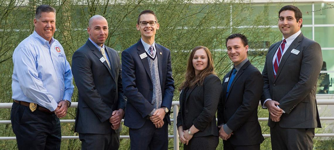 Eller MBA Green Valley Fire District consulting team