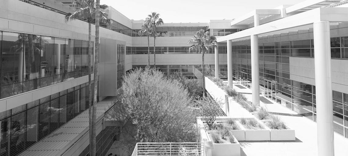 McClelland Hall Courtyard