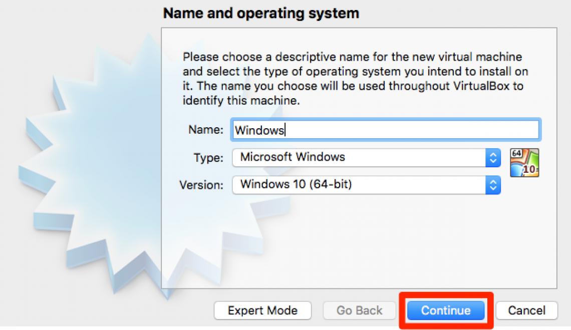 new windows vm details
