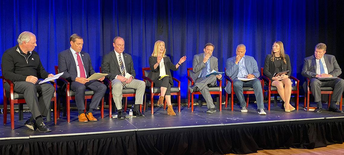 Name, Image and Likeness in College Athletics panelists