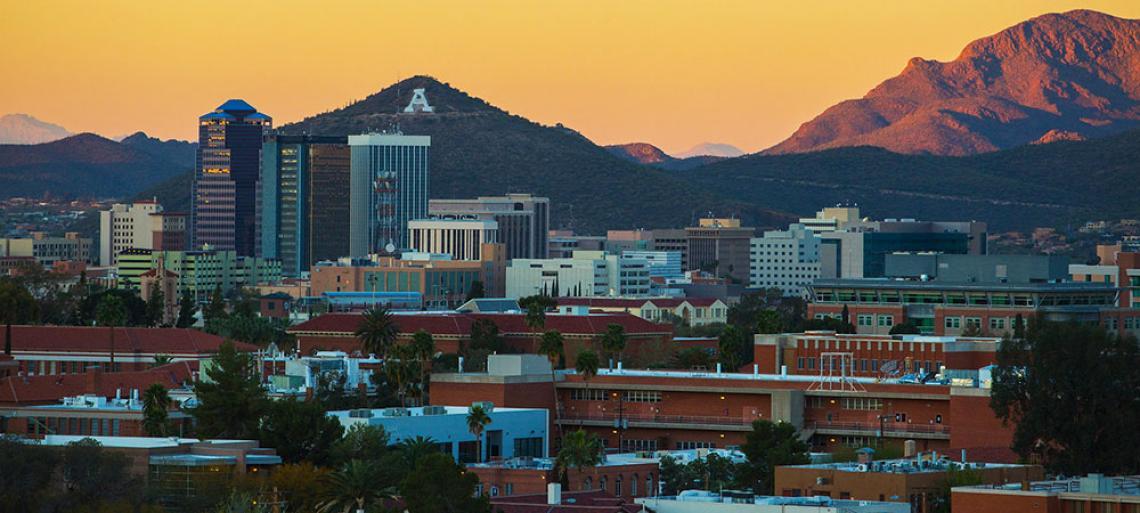 The University of Arizona and Tucson