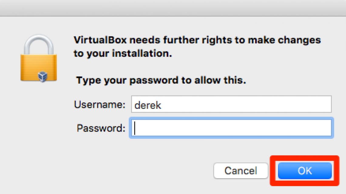virtual box step 11