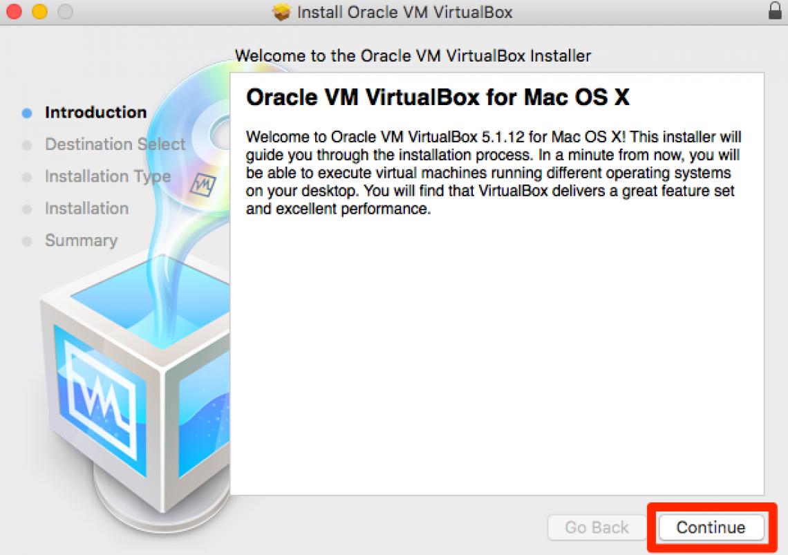 Virtual box step 5