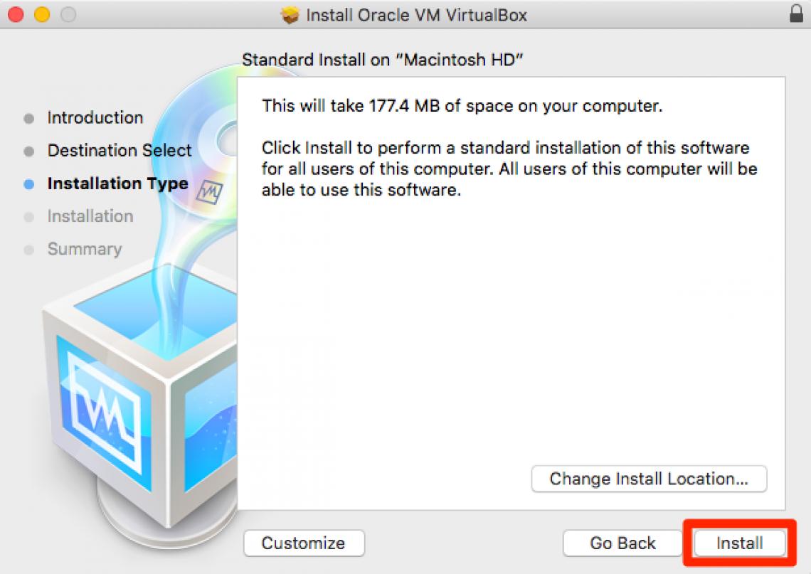 virtual box step 6