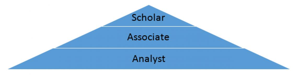 Scholar, Associate, Analyst