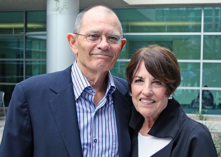 Jim and Pamela Muzzy