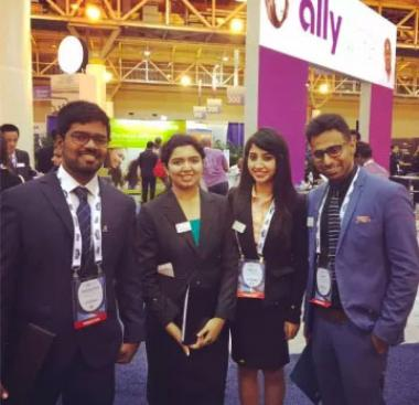Eller MBA students attend the National Black MBA Association annual conference